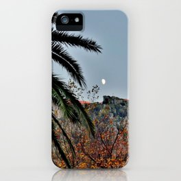 Moon Over Kotor iPhone Case