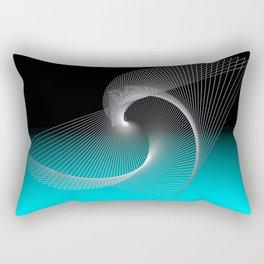 triangles -25- Rectangular Pillow