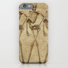 walking skeleton beauties Slim Case iPhone 6s