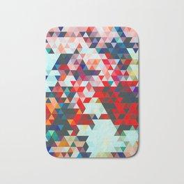 Geometrico #geometrical #abstract Bath Mat