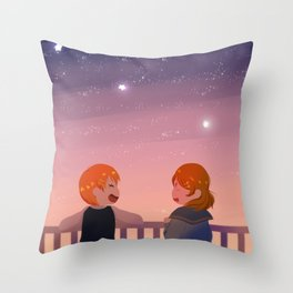 RinPana Constellation Throw Pillow