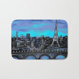 Eiffel Tower ~ Paris France Bath Mat