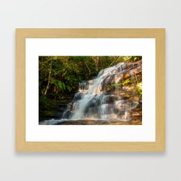 Somersby Falls, Central Coast, NSW, Australia Framed Art Print