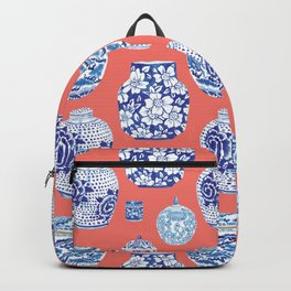 Chinoiserie Ginger Jar Collection No.4 Backpack