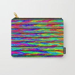 Fluid-color-stripes ... Carry-All Pouch