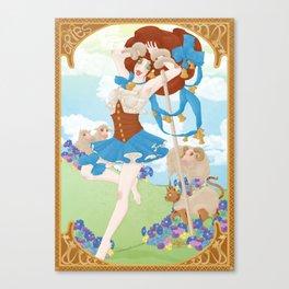 Zodiaque - Bélier (Aries) Canvas Print