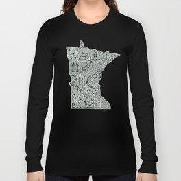 Anatomy of Minnesota Long Sleeve T-shirt