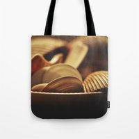 shells Tote Bags featuring Shells by BURNEDINTOMYHE∆RT♥