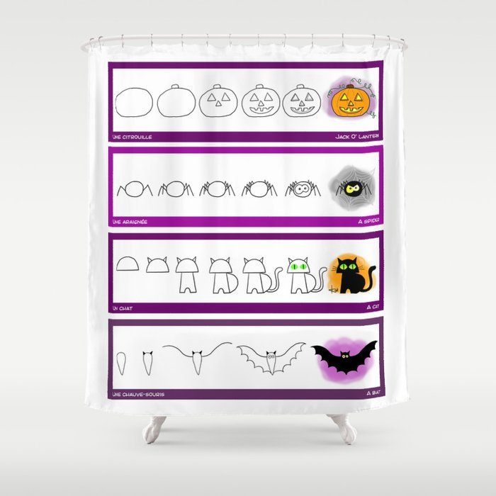 Halloween Shower Curtain