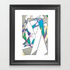 Color #8 Framed Art Print