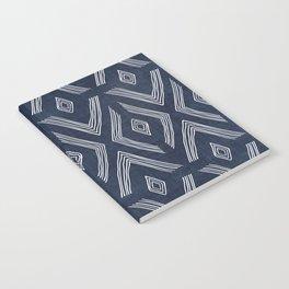 Birch in Navy Blue Notebook