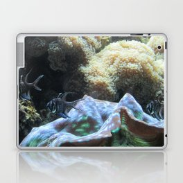 Black & White Fishes Laptop & iPad Skin