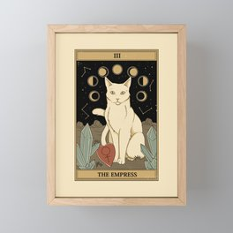 The Empress Framed Mini Art Print