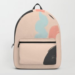 Peach and Blue Dreams Backpack