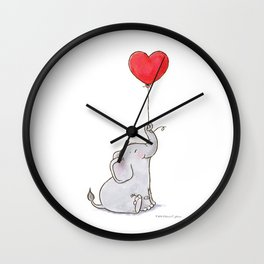 Hope Floats Wall Clock