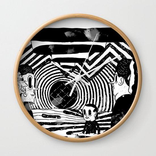 """""""Reflektor"""" by Steven Fiche Wall Clock"""