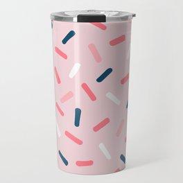 Blush Candy Rain Travel Mug