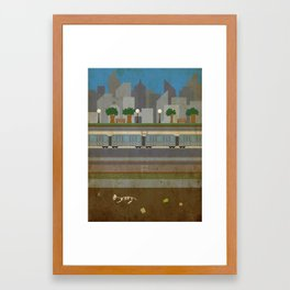 Layers of a City Framed Art Print
