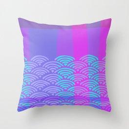 Miko 9 Throw Pillow