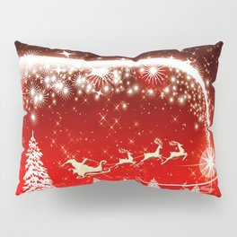 Santa Beautiful Christmas Pillow Sham