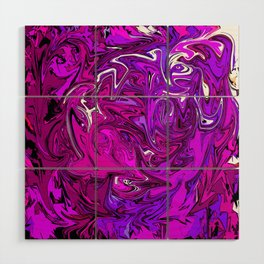 The Many Mysteries of Purple Wood Wall Art