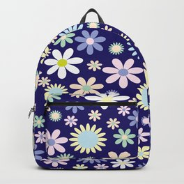 Colorful Flower Power Backpack