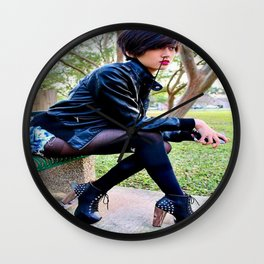 Fashion Pic Wall Clock