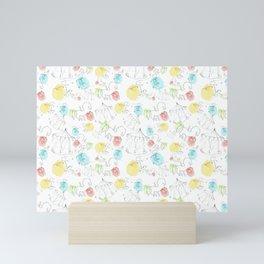 estampado carrusel Mini Art Print