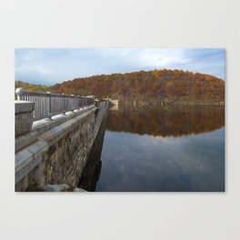 Reflecting Clouds Canvas Print