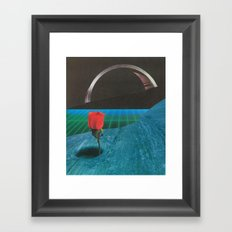 Life Finds A Way Framed Art Print