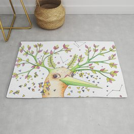 Forest's hear Rug