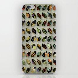 Pop Leaves iPhone Skin