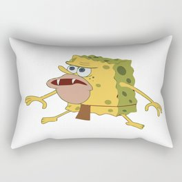 spongebob old Rectangular Pillow