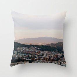 Los Bunkers Dos Throw Pillow