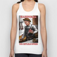 hannibal Tank Tops featuring HANNIBAL by Gart Graphisme