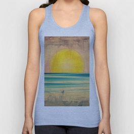 Ocean Sunset 1.0 Vintage Unisex Tank Top