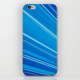 Colour Flash Blue iPhone Skin