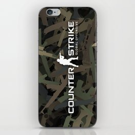 Counter strike weapon camouflage iPhone Skin