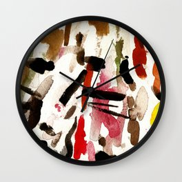 BLACK INVADERS Wall Clock