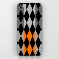 orange pattern iPhone & iPod Skins featuring Pattern orange by LoRo  Art & Pictures