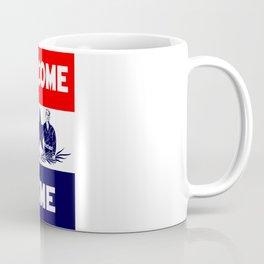 Vintage Military Welcome Home Coffee Mug