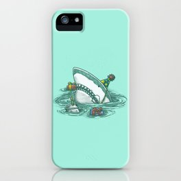 Happy Birthday Shark iPhone Case