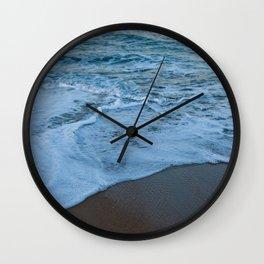 Ocean Study II Wall Clock