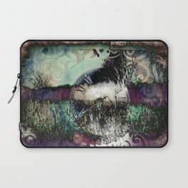 Time keeps on slipping...... Laptop Sleeve