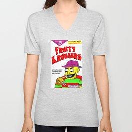 Fruity Kruegers: A Nightmare at Breakfast! Unisex V-Neck