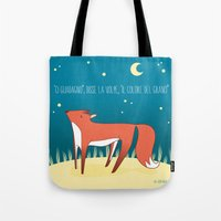 le petit prince Tote Bags featuring Legame (Le Petit prince) IT by OWL Good Night Design