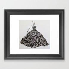My Flower Dream Framed Art Print
