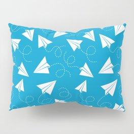 Paper Plane Pillow Sham