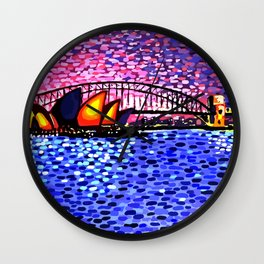 Sydney Harbour Wall Clock