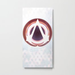 Animus Assassin Apparel Metal Print